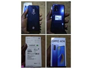 Fairly used Oppo A74 | 6gb RAM | 128gb Storage